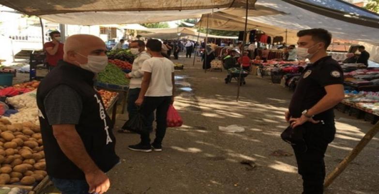 Şanlıurfa'da Kamuya Açık Tüm Alanlar Sıkı Denetimden Geçti