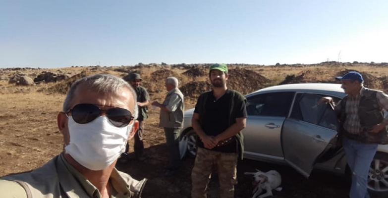 Urfa'da kaçak avcılara denetim!