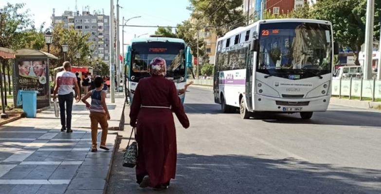 Urfa'da otobüs seferi artırılsın talebi