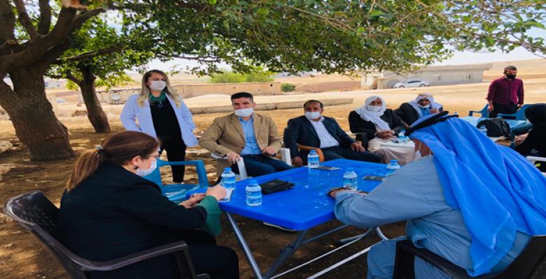 Urfalı çiftçilerin sorunları Ankara'ya iletilecek