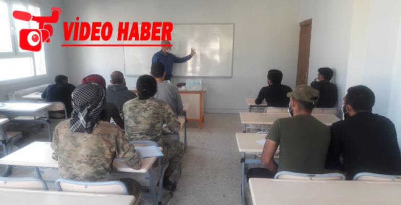 Barış Pınarında Türkçe Dersleri Başladı