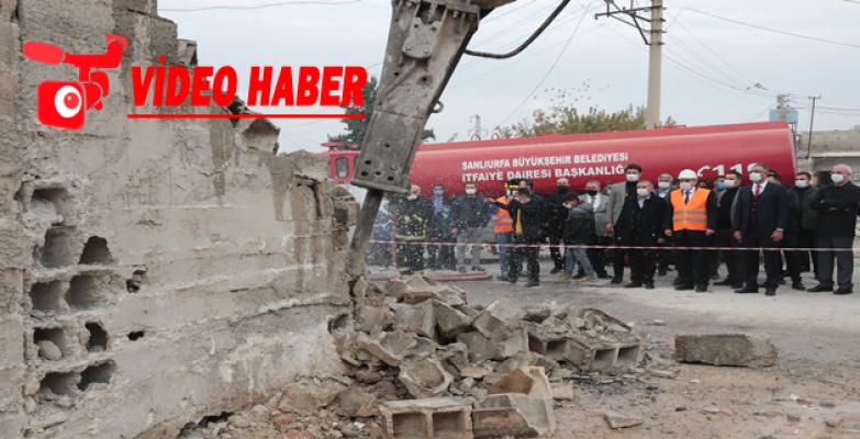 Büyükşehir, Eyyübiye'yi Yeniden İnşa Ediyor