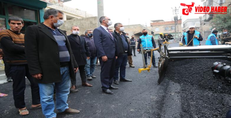 Eyyübiye Belediyesi, Asfalt Serimine Durmadan Devam Ediyor.