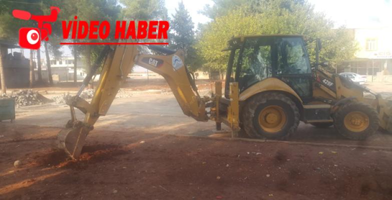 Eyyübiye Belediyesi Kırsalda Millet Bahçesi Yapımını Sürdürüyor