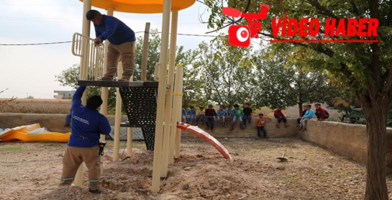 Haliliye kırsalına oyun grupları kurulmaya devam ediyor