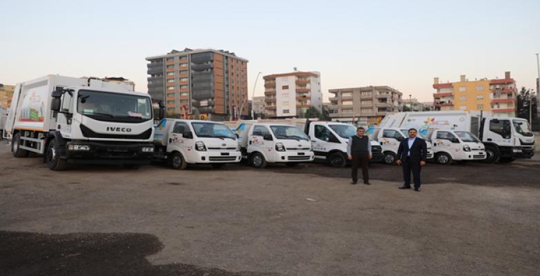 Haliliye, Temizlik Filosuna 7 Yeni Araç Daha Kazandırdı