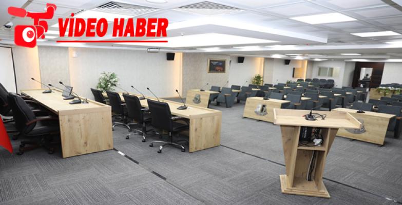 Haliliye'nin Yeni Meclis Salonu Hazır!