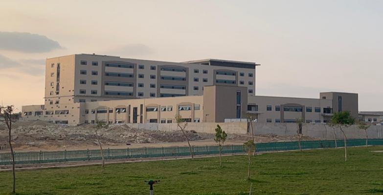 İl Sağlık Müdürü Ceylanpınar Hastane İnşaatında İncelemelerde Bulundu