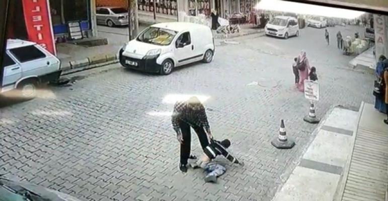 Şanlıurfa'da Çocuğu kaldırıp vahşice yere vuran şahıs tutuklandı