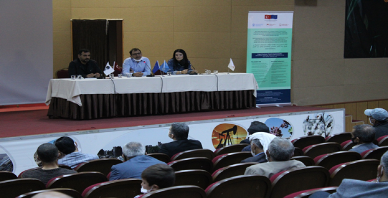 Şanlıurfa'da Uygulamalı Çiftçi Okulları Projesi Başlatıldı