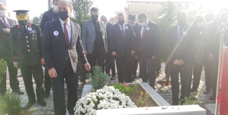 Urfa'da 10 Kasım töreni