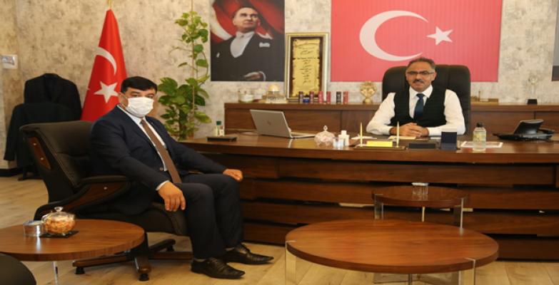 Başkan Aslan'dan Başkan Kuş'a Ziyaret