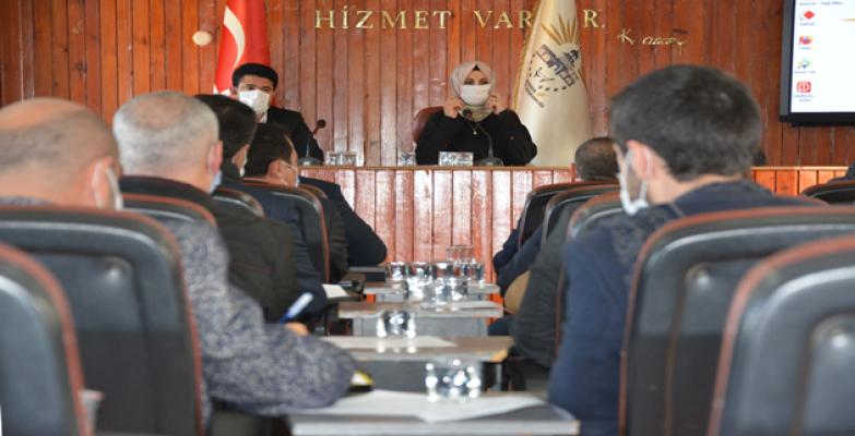Başkan Ayşe Çakmak ilk meclis toplantısını yaptı