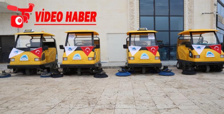 Eyyübiye Belediyesi, Filoya 5 Yeni Araç Daha Kattı