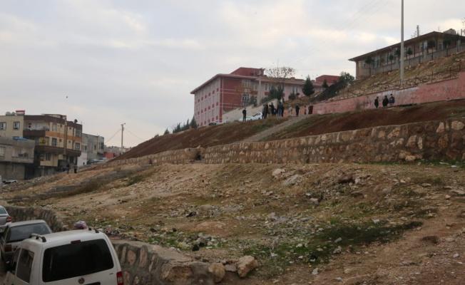 EYYÜBİYE'DEN 15 TEMMUZ MAHALLESİNE ŞELALE VE PARK YAPIMI