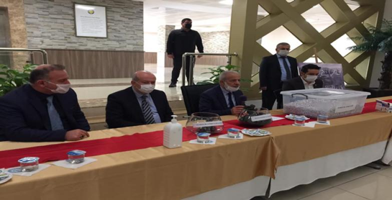 Harran Üniversitesi, Noter Huzurunda Personel Alımını Gerçekleştirdi