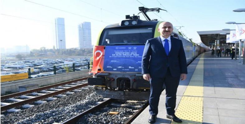 Türkiye'den Çin'e gidecek ilk ihracat treni İstanbul'dan yola çıktı