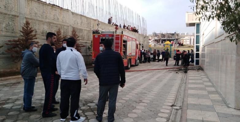 Urfa'da korkutan yangın, 1ölü