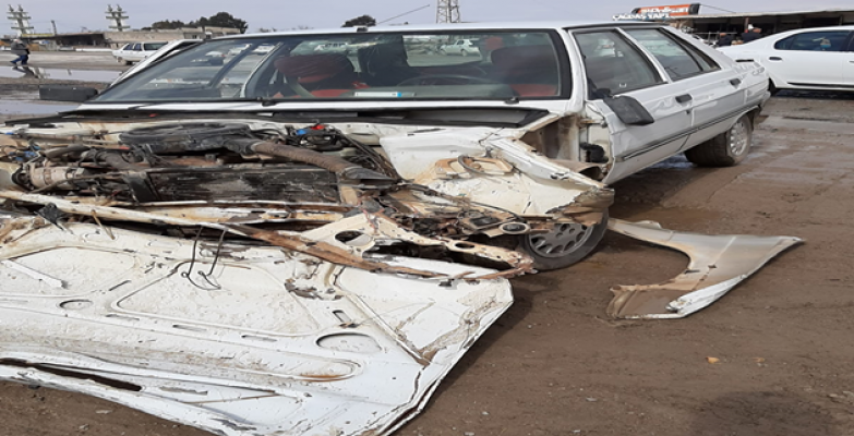 Şanlıurfa'da trafik kazası, 4 yaralı