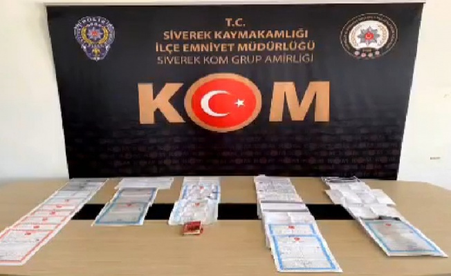 Siverek'te tapuda rüşvet operasyonu, 6 tutuklama