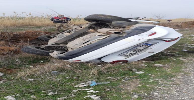Urfa'daki kazada ölü sayısı 2'ye yükseldi