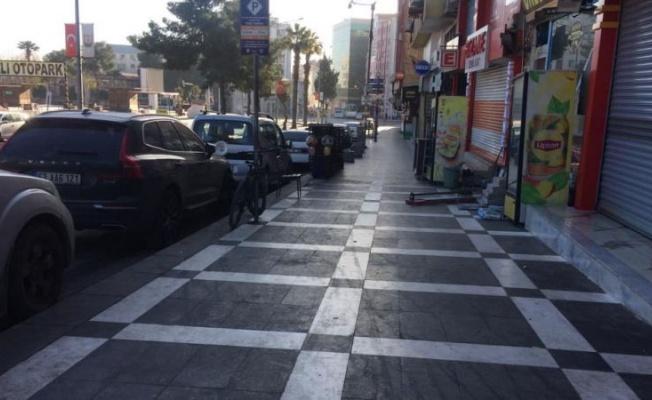 Urfa sokaklarında sessizlik