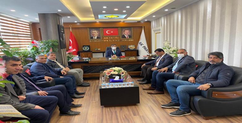 Başkan Aslan'dan AK Parti'ye ziyaret