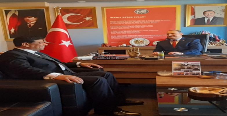 Başkan Aslan, İstanbul temasları devam ediyor