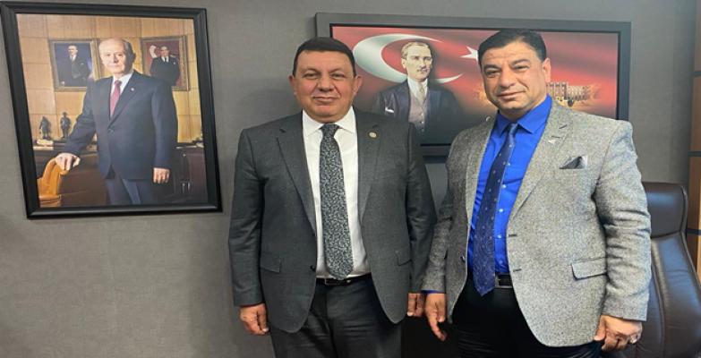 Başkan Aslan, TBMM'de Urfa Vekillerini ziyaret etti