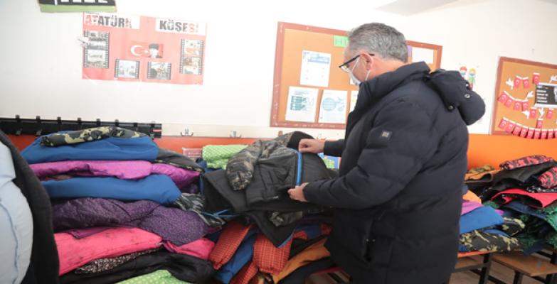 Eyyübiye belediyesi, dezavantajlı öğrencileri unutmadı