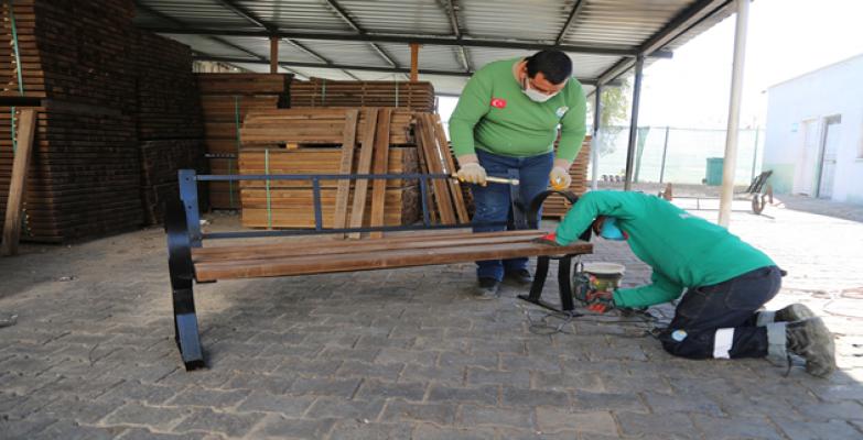 Haliliye belediyesinden geri dönüşüm çalışmaları