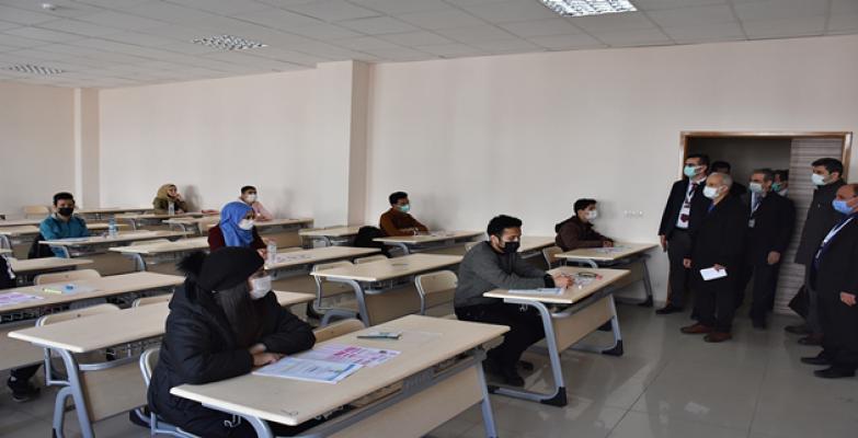 HRÜ Yabancı öğrencilere yönelik sınav gerçekleştirildi