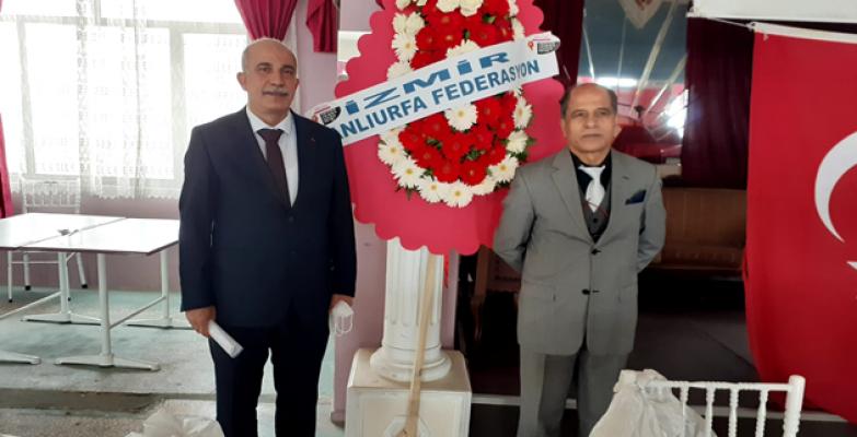 İzmir Şanlıurfalılar Federasyonu kongresi yapıldı