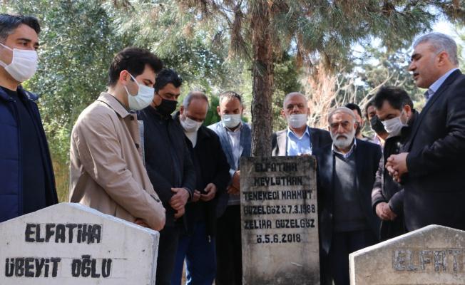 Mahmut Güzelgöz mezarı başında sevenleri tarafından anıldı