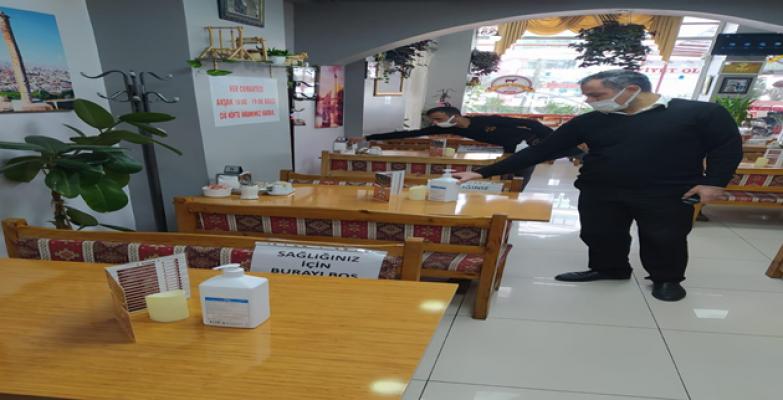 Şanlıurfa'da  açılan lokanta işletmeciler mutlu