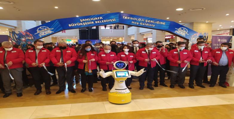 Şanlıurfa'da 'Teknoloji Şenliği' açıldı