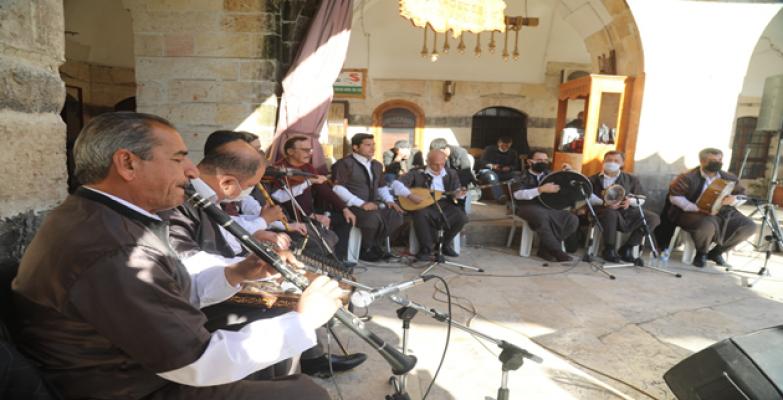 Tarihle Müzik Harmanlandı, Şanlıurfa'nın Hanlarında Yankılandı
