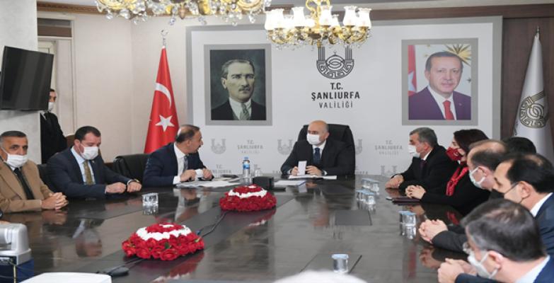 Ulaştırma Bakanı Karaismailoğlu Şanlıurfa'da