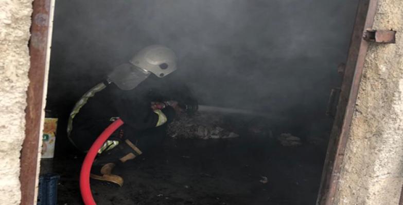 Urfa'da mesken evde yangın