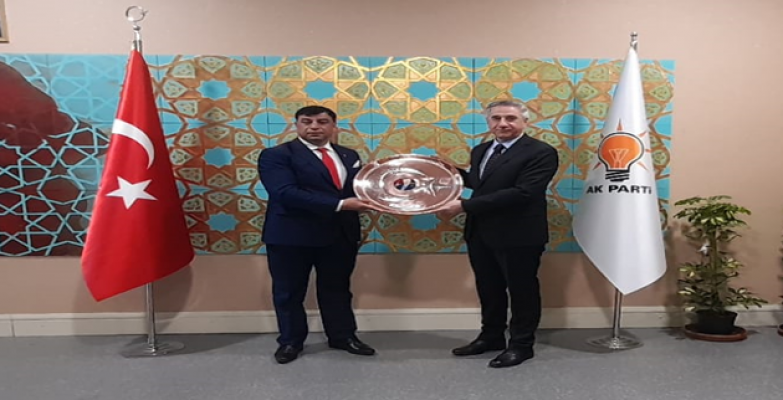 Başkan Aslan, AK Parti Genel Merkezini ziyaret etti