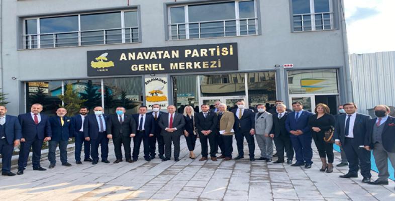 Başkan Aslan, Anavatan MKYK toplantısına katıldı