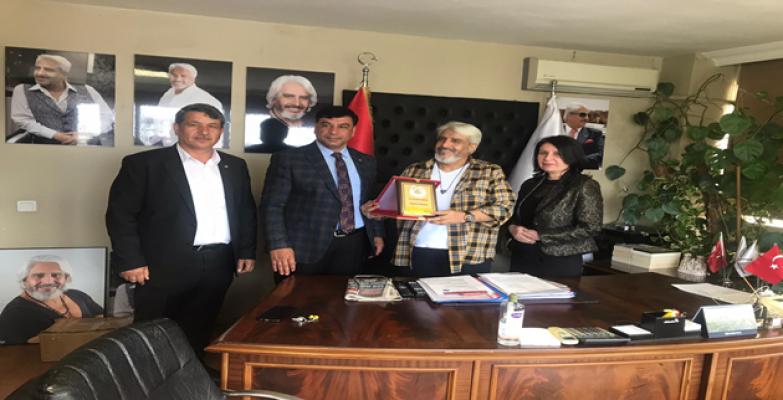 Başkan Aslan, İstanbul'da İş adamlarıyla görüştü