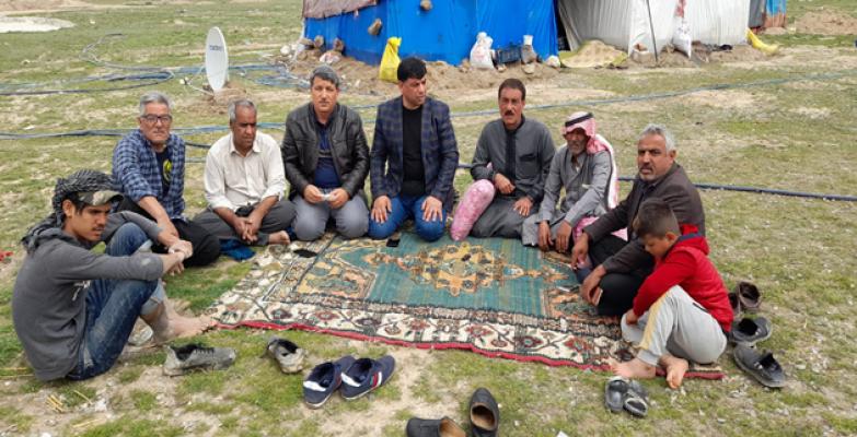 Başkan Aslan, mevsimlik tarım işçileri ziyaret etti