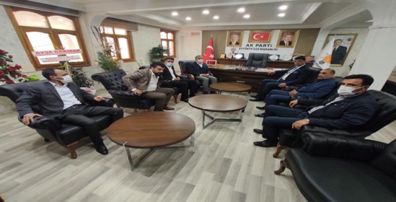 Başkan Aslan'dan Başkan Moğal'a Ziyaret