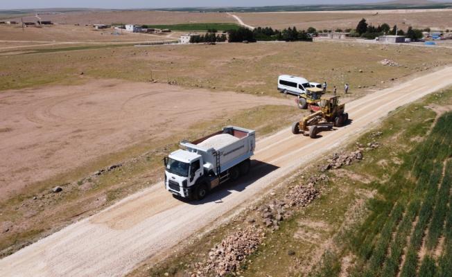 Büyükşehir kırsal çalışmalarına ara vermeden devam ediyor