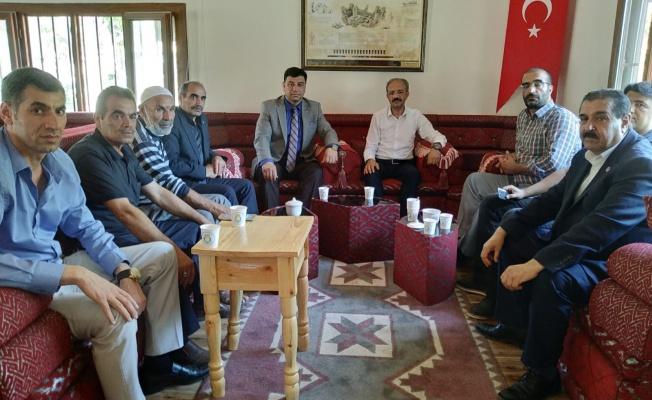 Başkan Aslan'dan Şehit Yakınları ve Gaziler Derneğine Ziyaret