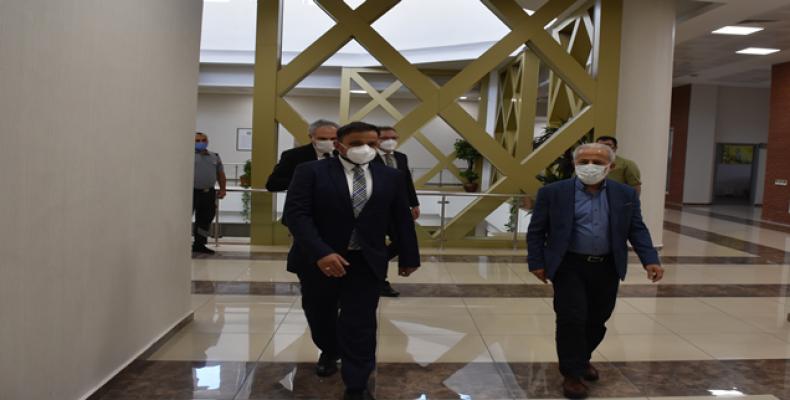 Cumhurbaşkanlığı Dijital Dönüşüm Ofisi Başkanından Harran Üniversitesine Ziyaret