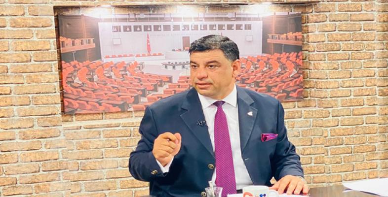 Halil Aslan Anavatan Partisi'nin Güneydoğu Bölge Başkanı Oldu