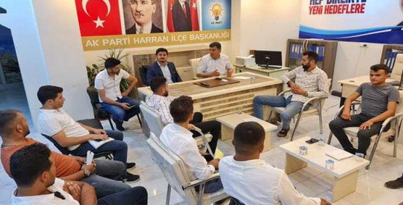 Harran AK Parti ilçe toplantısı yapıldı