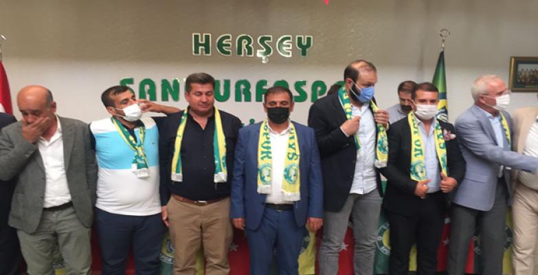 Şanlıurfaspor'da başkan Yetim oldu